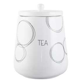 Ellipse Tea Storage Jar