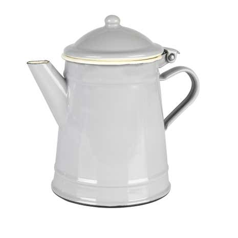 Enamel Grey Tea Pot