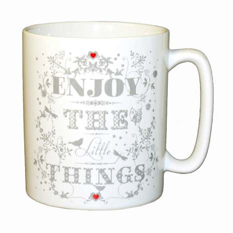 Enjoy the Little Things Pint Mug