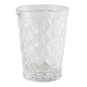 Faceted Glass Tumblers Clear