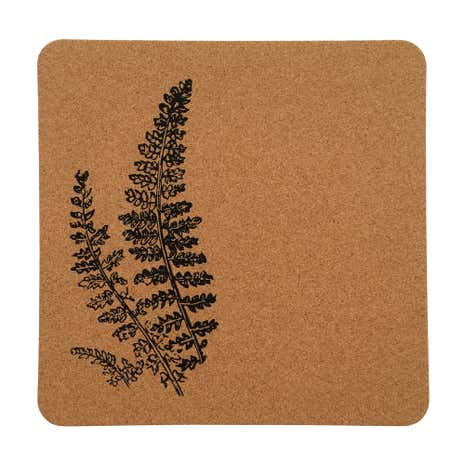 Fern Printed Pack of 4 Cork Placemats