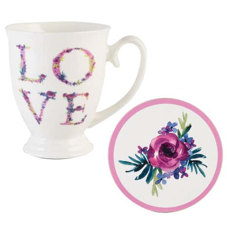 Love Mug and Coaster Set