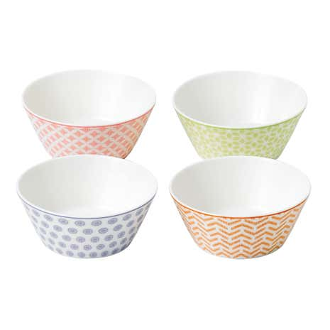 Royal Doulton Pastels Accent Set of 4 Small Bowls