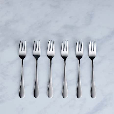 Viners Select 6 Pack Pastry Forks