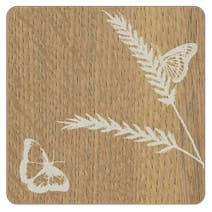 4 Pack Wood Effect Coasters