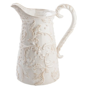 Dorma Cream Ceramic Glazed Jug