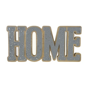 Zinc Home Ornament