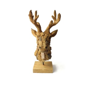 Brown Stag Head Ornament