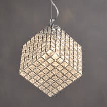Cosmic Glass Light Ceiling Fitting