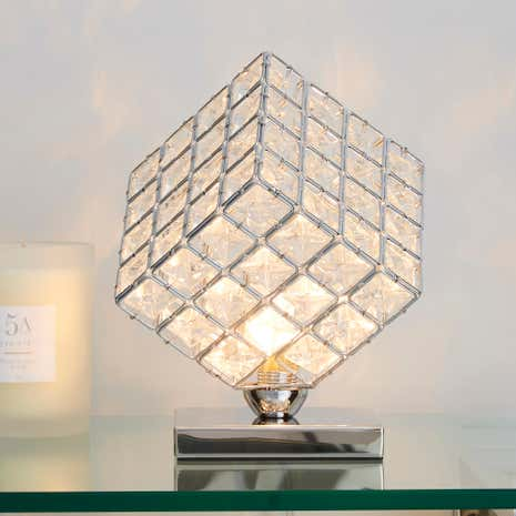 Cosmic Glass Table Lamp
