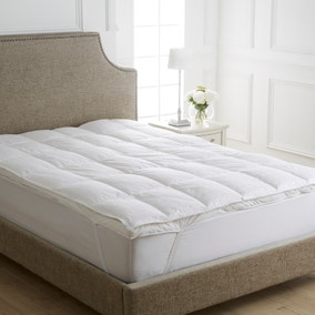 Dorma Hungarian Goose Down Dual Layer Mattress Topper