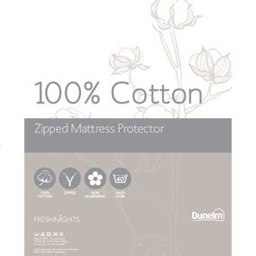Cotton Zipped Mattress Protector