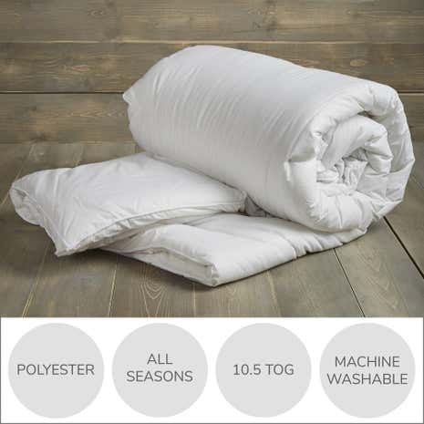Fogarty Perfectly Washable 10.5 Tog Duvet