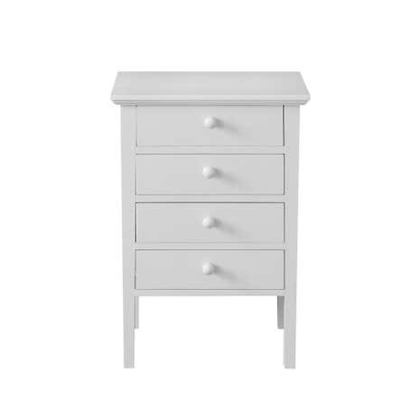 White bedside table with baskets large size of rustic dark for Cheap tall white nightstands