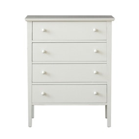 Baxter Grey 4 Drawer Chest