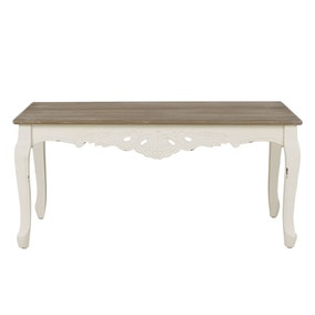 Camille Ivory Coffee Table