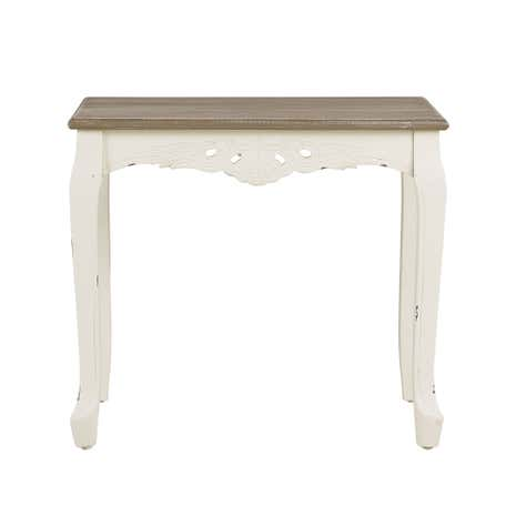 Camille Ivory Lamp Table