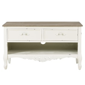 Camille Ivory TV Stand