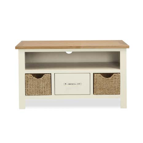 Gentil Sidmouth Cream TV Stand. Loz_exclusive_to_dunelm