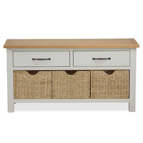 Sidmouth Cotton Storage Bench