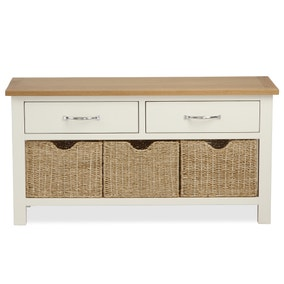 Sidmouth Cream Storage Bench