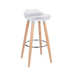 White Harry Bar Stool