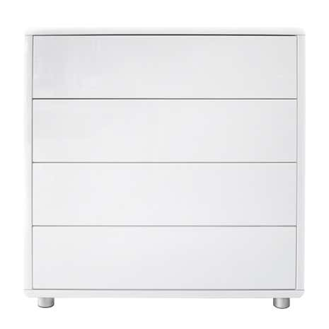 Soho White Gloss 4 Drawer Chest