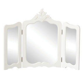 Toulouse White Vanity Mirror