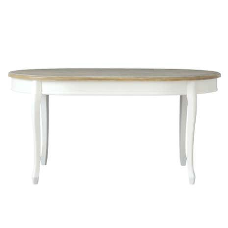 Vintage Ivory Dining Table