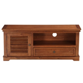 Louvre Dark Wood TV Stand