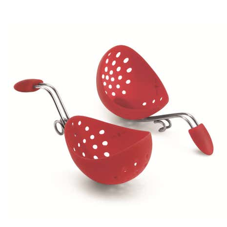 Cuisipro Red Egg Poacher Set