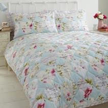 Melody Duck-Egg Bedspread