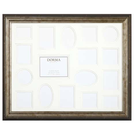Dorma Multi Aperture Antique Photo Frame