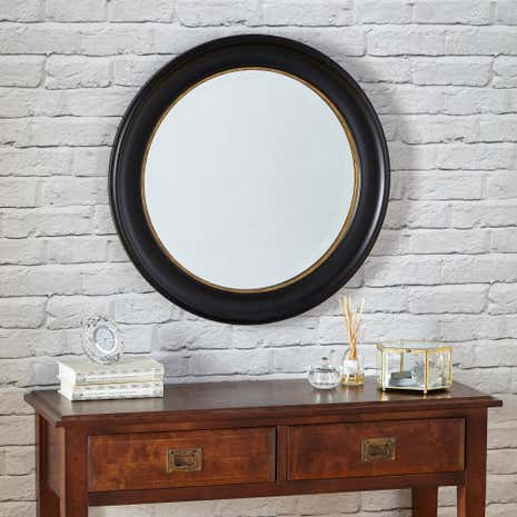 Dorma Round Antique Mirror