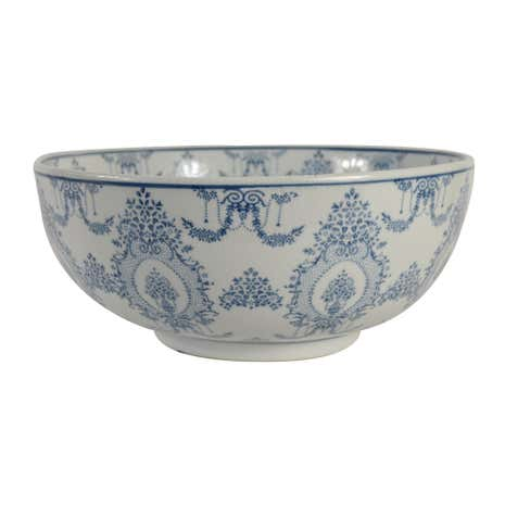 Dorma Blue Toile Ceramic Bowl