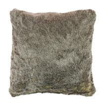 Husky Faux Fur Cushion