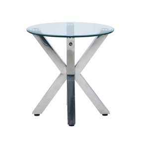 Circa Chrome Lamp Table