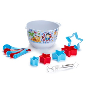 Captain Flapjack 12-Piece Mixing Bowl Set