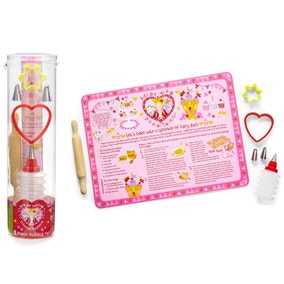 Princess Cupcake 8 Piece Baking Set
