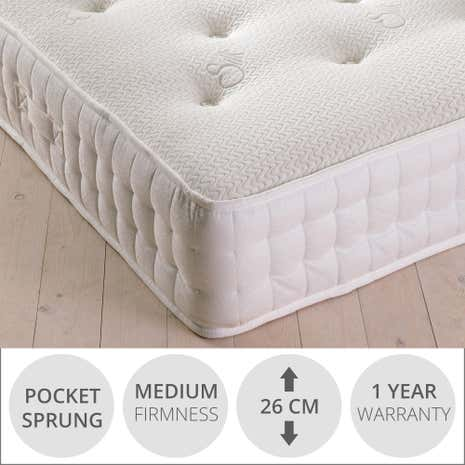 Waverley Pocket Silk Medium Mattress