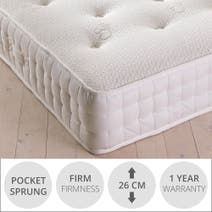 Waverley Pocket Silk Firm Mattress
