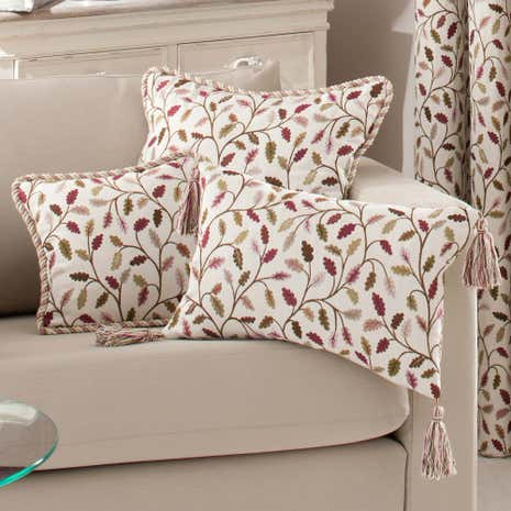 Large Heritage Damson Glava Cushion