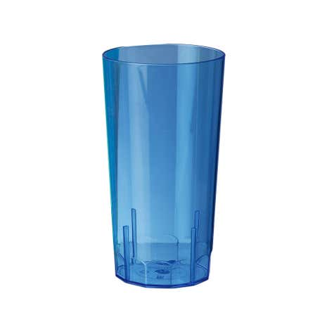 Clarity Set of 6 Polystyrene Hi Ball Tumblers