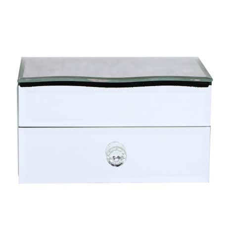 Viola Jewellery Box with Curved Lid