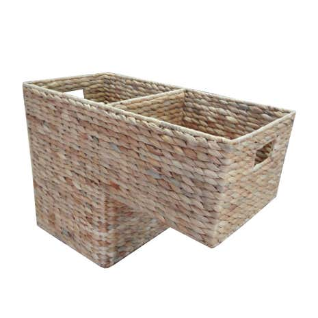 Water Hyacinth Stair Storage Basket