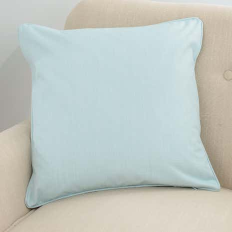 Solar Mint Cushion Cover