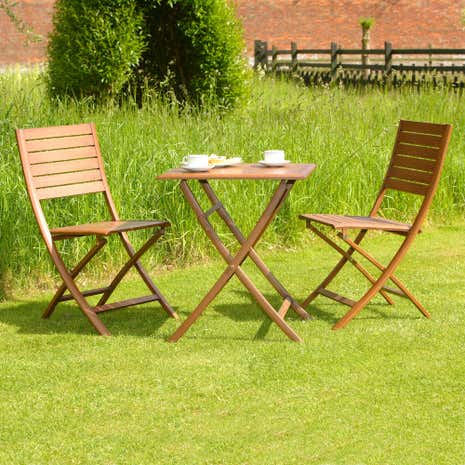 Canberra 3 Piece Bistro Set