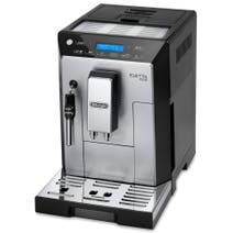 Delonghi Eletta Black and Silver Bean to Cup Machine