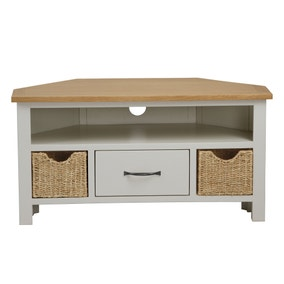 Sidmouth Cotton Corner TV Stand