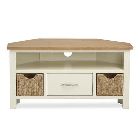 Sidmouth Cream Corner TV Stand